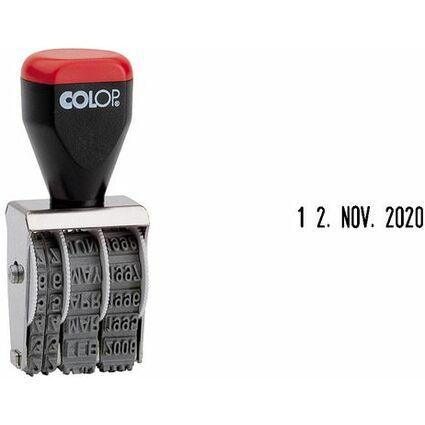 COLOP Datumstempel 03000, Monate in Buchstaben