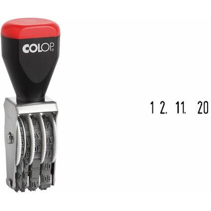 COLOP Datumstempel 03000SD, Monate in Zahlen