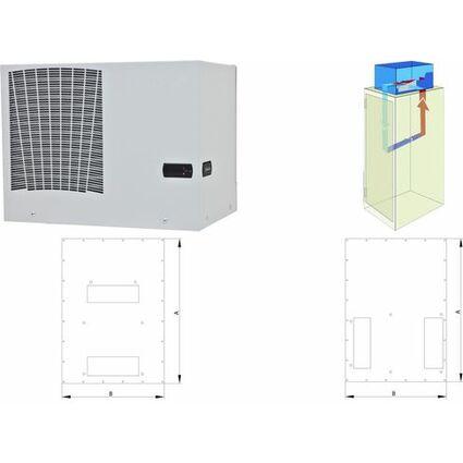 TRITON Zusatzblende für die Montage der Klimaeinheit X1, X2