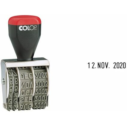 COLOP Datumstempel 05000, Monate in Buchstaben