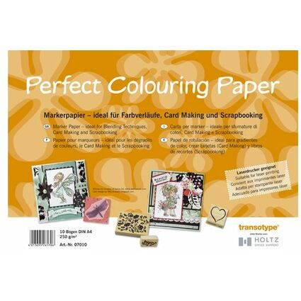 COPIC Marker Papier DIN A3, 250 g/qm, 10 Blatt