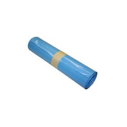 Müllsäcke, blau, 140 Liter, Maße: 900 x 1100 mm