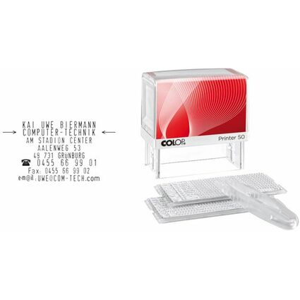 "COLOP Textstempelautomat ""D-I-Y Sets"" Printer 50/2 Set"