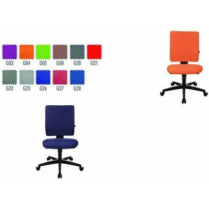 "Topstar Bürodrehstuhl ""Lightstar 10"", orange"