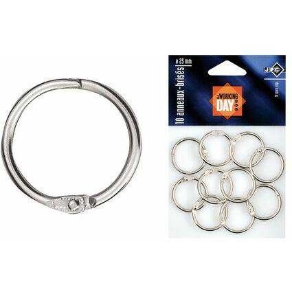 JPC Verbindungsringe, Durchmesser: 14 mm, aus Metall
