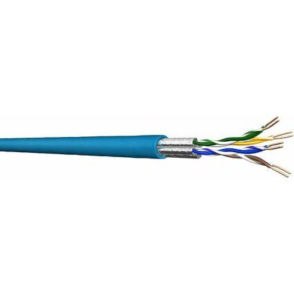 Draka HP-FTP Installationskabel 500 m, Kat.6, 250 MHz, blau,