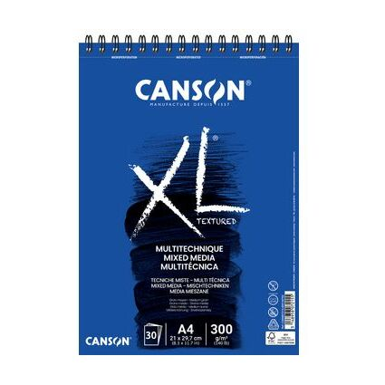 "CANSON Skizzen- und Studienblock ""XL MIX MEDIA"", DIN A4"