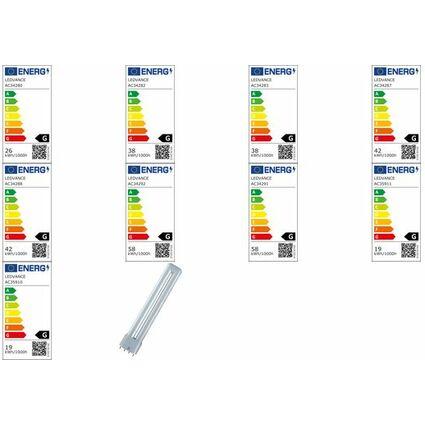 OSRAM Kompaktleuchtstofflampe DULUX L LUMILUX, 18 Watt, 2G11
