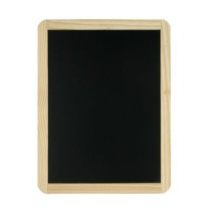 JPC Schreibtafel, blanko, (B)260 x (H)340 mm, schwarz