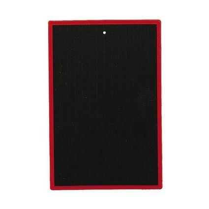 JPC Kunststofftafel, blanko/kariert, (B)170 x (H)250 mm