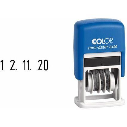 COLOP Datumstempel Mini Dater S120 SD, Monate in Zahlen