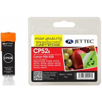 JET TEC wiederbefüllte Tinte CL8B ersetzt Canon CLI-8BK