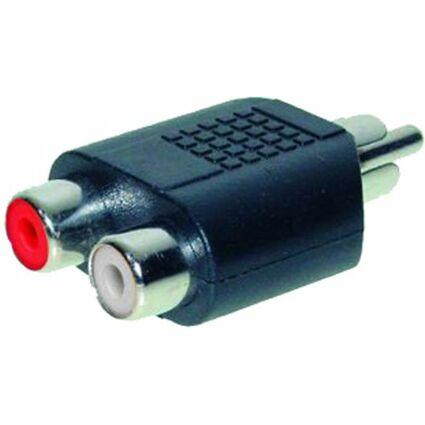 shiverpeaks BASIC-S Audio-Adapter Cinchstecker -
