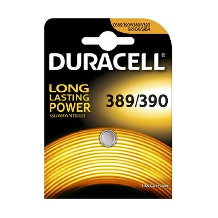 "DURACELL Silber-Oxid Knopfzelle ""Electronics"", 357/303, 2er"