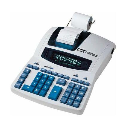 ibico druckender Tischrechner 1232X Professionell