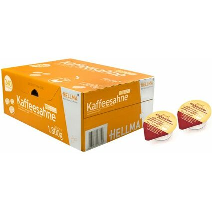 HELLMA Kaffeesahne 10 % Fett, Großpackung