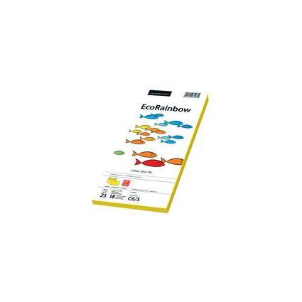 PAPYRUS Briefumschlag Rainbow, DIN C6/5, intensivgelb
