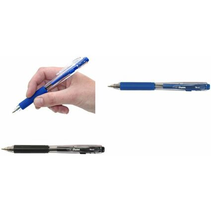 Pentel Druckkugelschreiber BK437, blau