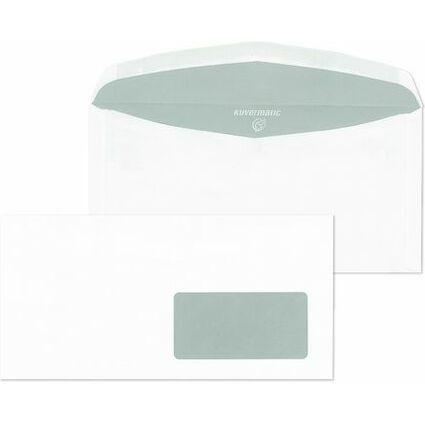 MAILmedia Briefumschläge C6/5 naßklebend, mit Fenster rechts