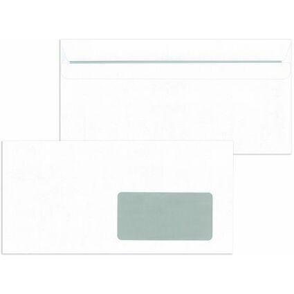 MAILmedia Briefumschläge DIN Lang selbstklebend, mit Fenster