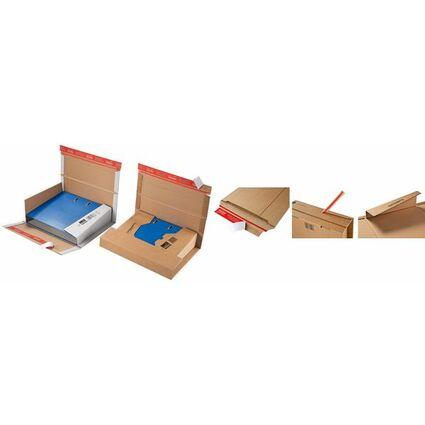 ColomPac Ordner-Versandkarton, weiß, für Ordner DIN A4