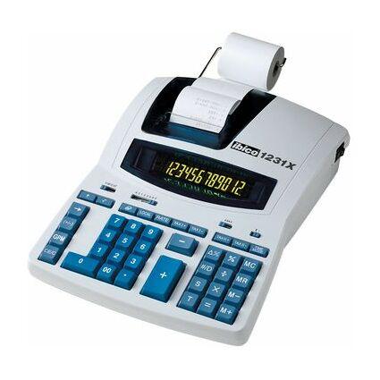 ibico druckender Tischrechner 1231X Professionell