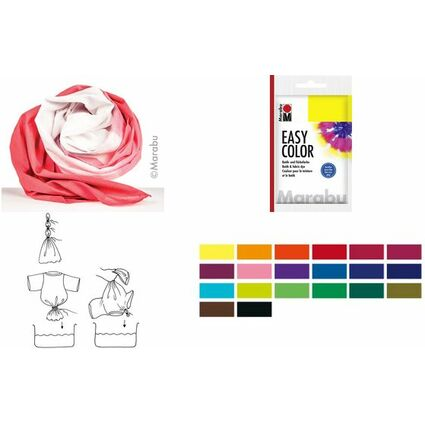 "Marabu Batik- und Färbefarbe ""EasyColor"", 25 g, schwarz"