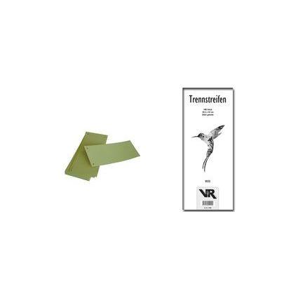 VIKTOR RICHTER Trennstreifen 105 x 240 mm, grün, 240 g/qm
