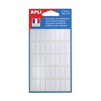 agipa Vielzweck-Etiketten, 25 x 50 mm, weiß