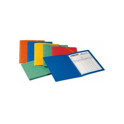 ELBA Eckspannermappe, DIN A4, aus Karton, blau