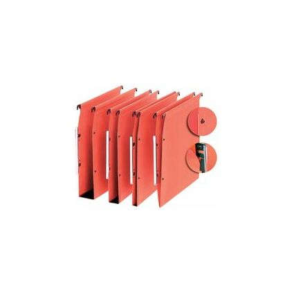 "l'oblique Dossiers suspendus ""Medium"", fond V, 220 g, orange"
