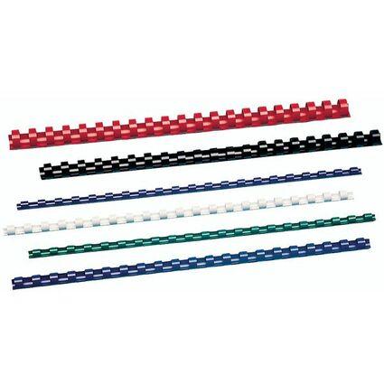 GBC Plastikbinderücken CombBind, DIN A4, 16 mm, weiß