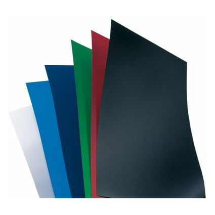 GBC Einbanddeckel PolyOpaque, DIN A4, 0,30 mm, royalblau