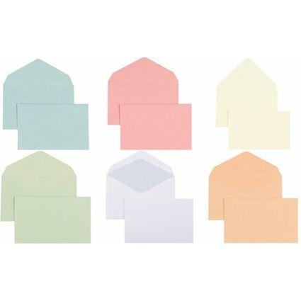 GPV Briefumschläge, 90 x 140 mm, blau, ungummiert