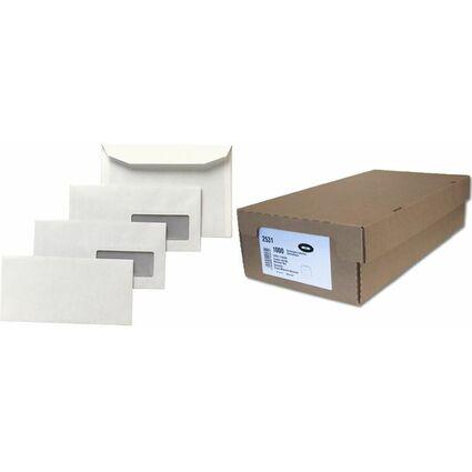 GPV Briefumschläge, DA, 115 x 225 mm, weiß, mit Fenster