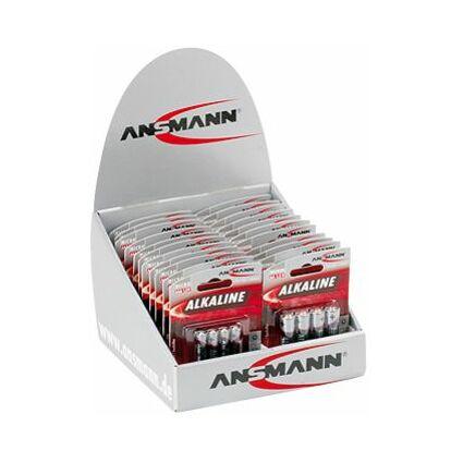 """ANSMANN Alkaline Batterie """"RED"""", 22er Display"""