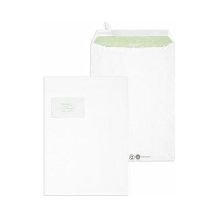 MAILmedia Versandtasche Envirelope, C4, mit Fenster, weiß