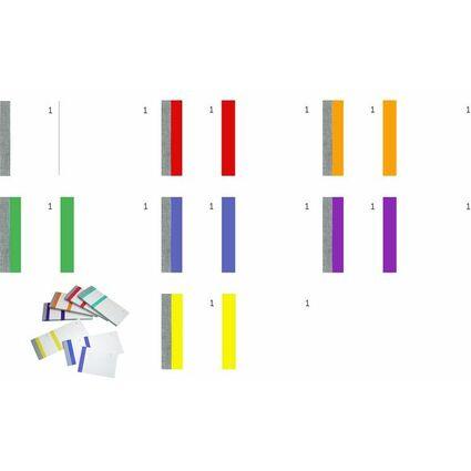 ELVE Bon-Block, violett, Maße: (B)135 x (H)60 mm