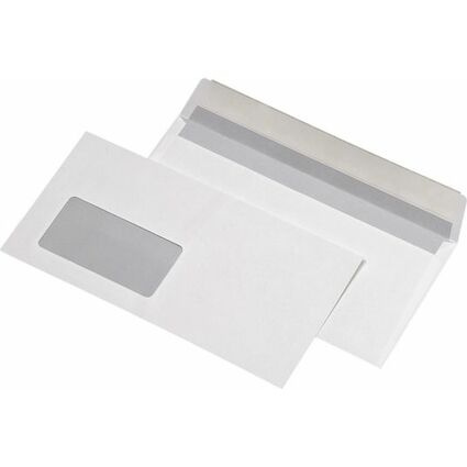 MAILmedia Briefumschläge 114 x 229 mm, FSC, naßklebend