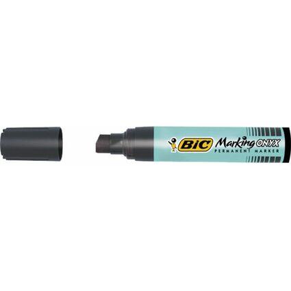 BIC Permanent-Marker Marking Onyx 1891, Keilspitze, schwarz