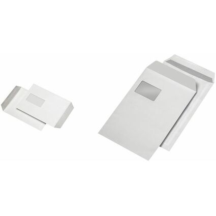 MAILmedia Versandtaschen C4, selbstklebend, mit Fenster