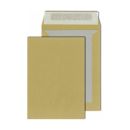 MAILmedia Papprückwandtaschen B4, ohne Fenster, weiß
