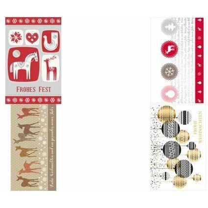 """SUSY CARD Weihnachtskarte """"Malen nach Zahlen"""""""