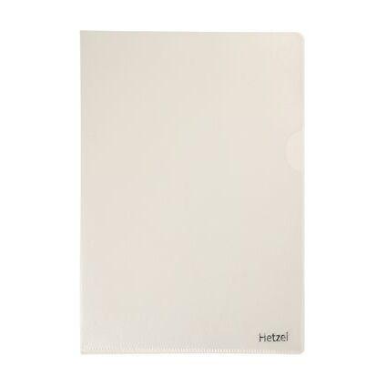 HETZEL Sichthülle Standard, A4, PP, genarbt, 0,11 mm