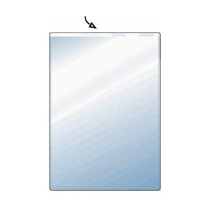 HETZEL Ausweishülle, PVC, 1-fach, 0,17 mm, Format: DIN A6