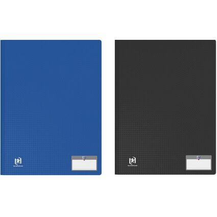 """ELBA Sichtbuch """"Memphis"""", DIN A4, mit 20 Hüllen, blau"""