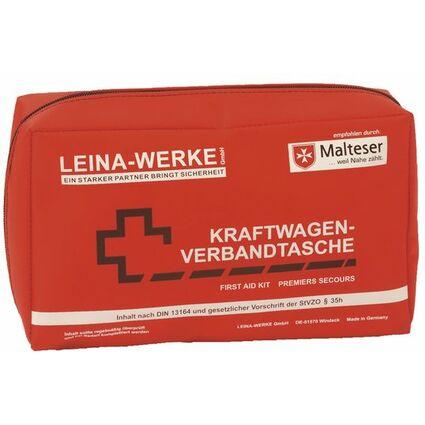Leina KFZ-Verbandtasche Compact, Inhalt DIN 13164, rot