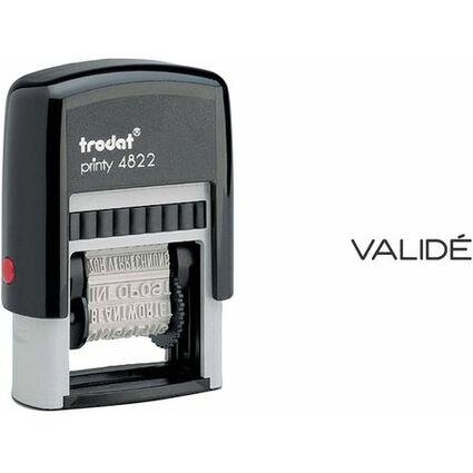 trodat Tampon multiformules Printy 4822B, pour comptabilité