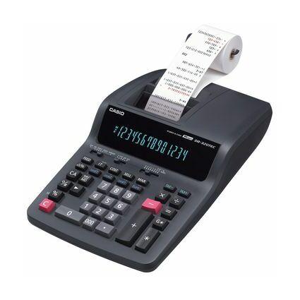 CASIO Druckender Tischrechner Modell DR-320 TEC