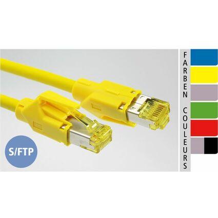 EC-net Patchkabel Kat. 6A S/FTP, grün, 7,5 m